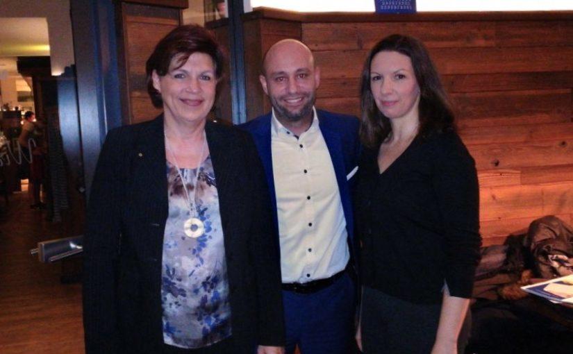 Neujahrsempfang des Lions Clubs Speyer Palatina und Aufnahme zwei neuer Mitglieder