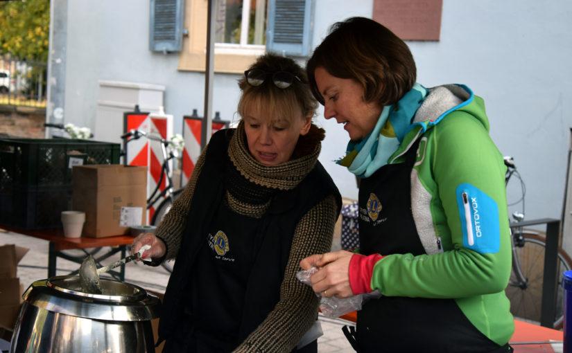 Erstes Suppenfest am Speyerer Geschirrplätzel erfährt großen Zuspruch