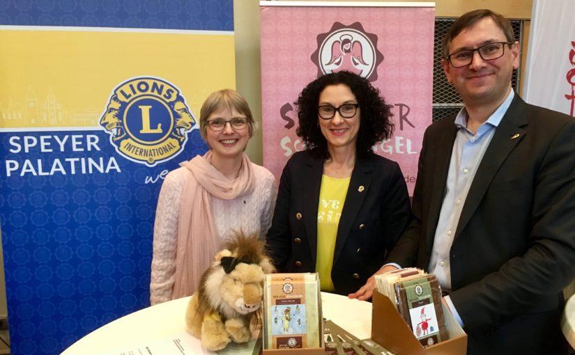 Lions Premiere auf Speyerer Ehrenamtsmesse erfolgreich